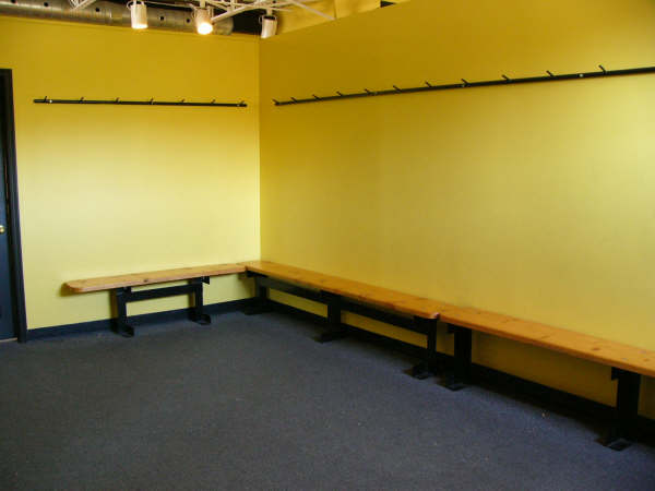 Upstairs Changing Room