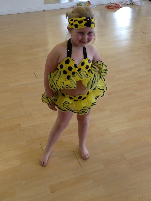 Acro Costume, too cute!